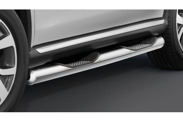 Cobra műanyagbetétes oldalfellépő Mitsubishi Outlander 2010-2012 MIT1297