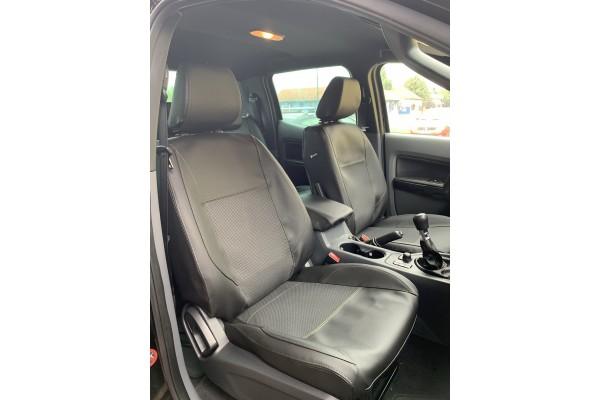Ford Ranger Hunter bőr-szövet üléshuzat
