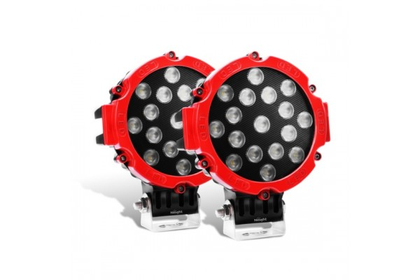 Nilight LED lámpa piros 15023FR-B