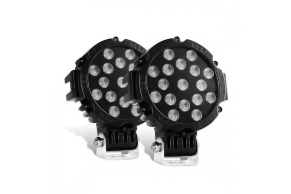 Nilight LED lámpa fekete 15023FB-B