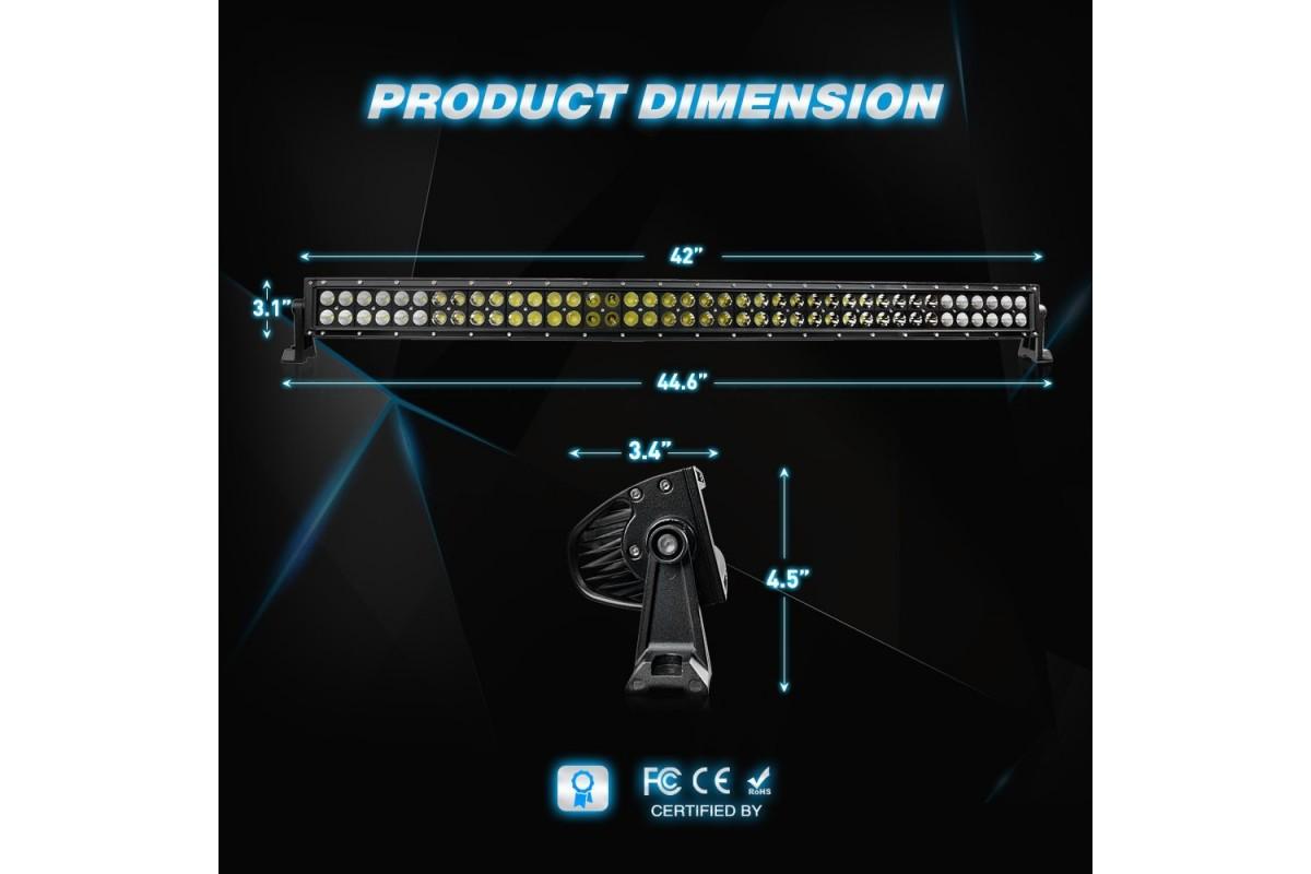 Nilight LED lámpa ívelt 71017C-A