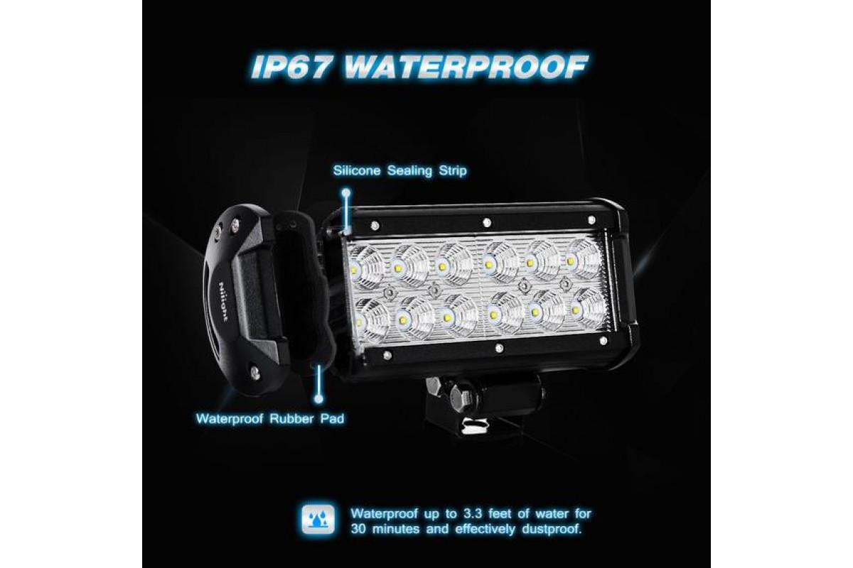 Nilight LED lámpa 60002F-B