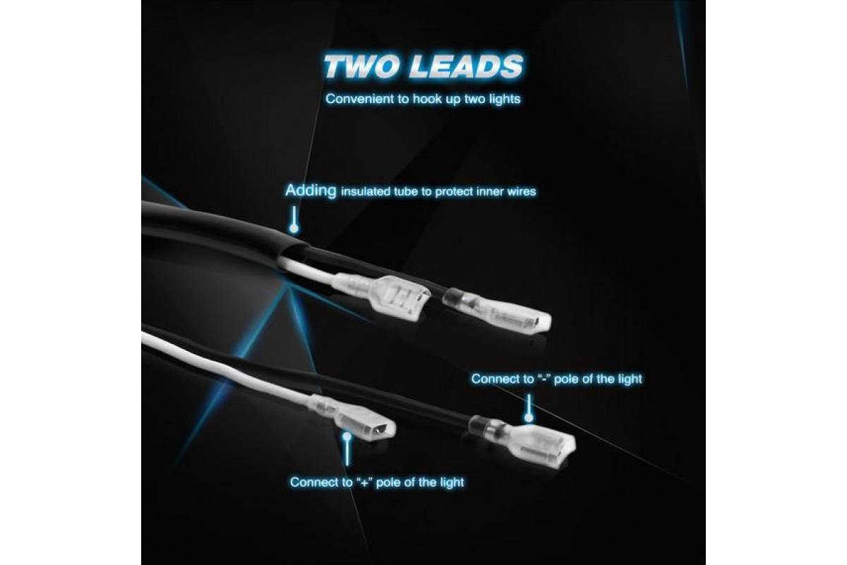 Nilight LED lámpához 180W terhelhetőségű vezeték kapcsolóval 10005W