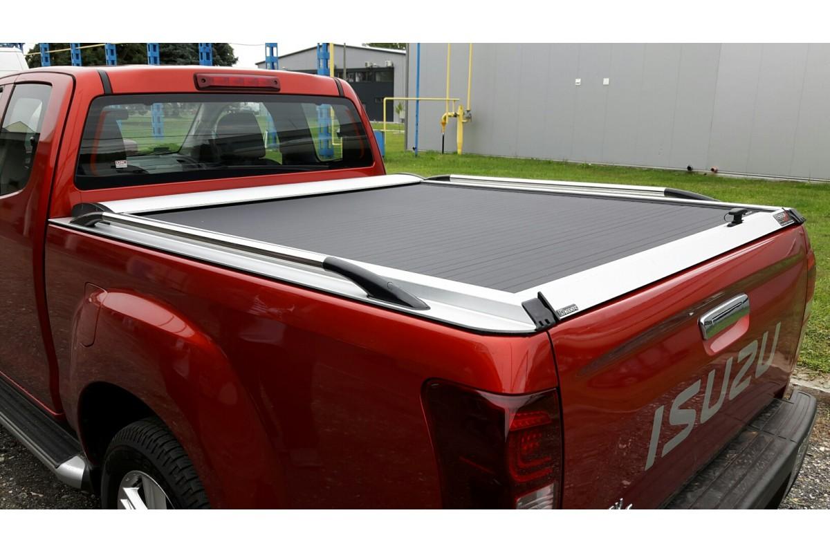Tessera4x4 ezüst roló oldalkorlát nélkül (nyújtott kabin)