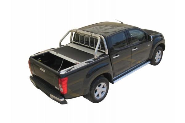 Tessera4x4 rolóhoz szerelhető bukókeret ablakvédő ráccsal RB407INOX+APS095INOX