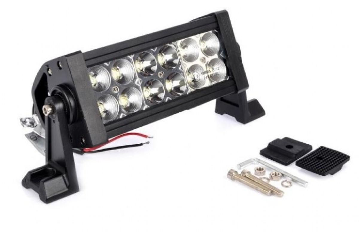 LED fényszóró 12 ledes dupla soros
