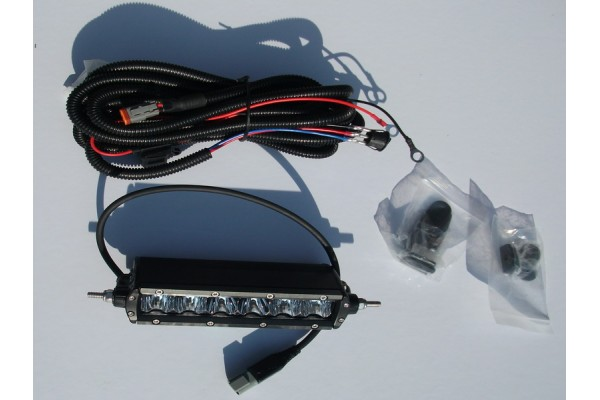 Aurora LED fényszóró 6-os szimpla soros