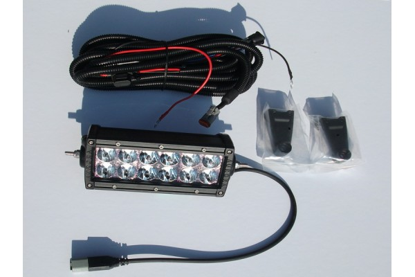 Aurora LED fényszóró 12-es dupla soros
