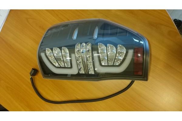 LED hátsó lámpa fekete